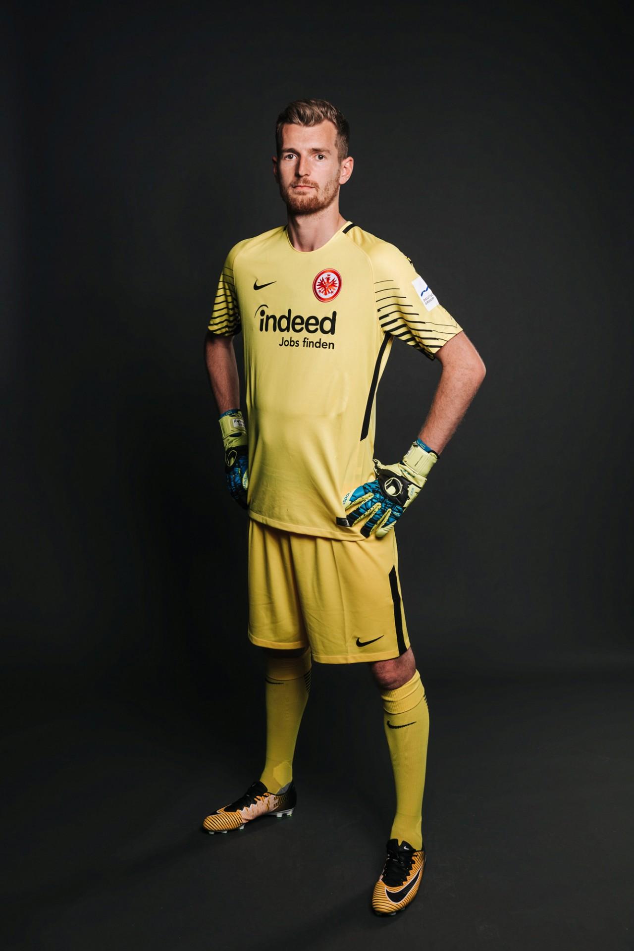 Tim Peukert Season Portraits — Eintracht Frankfurt, 2017